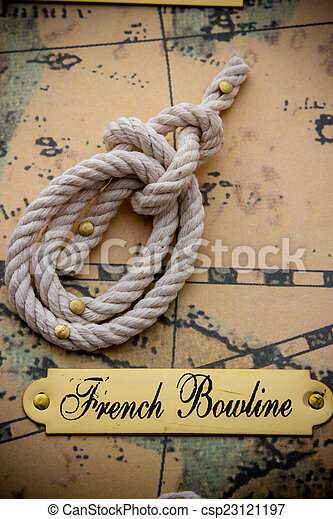 Nautical knots - csp23121197