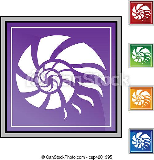 Nautilus Shell - csp4201395