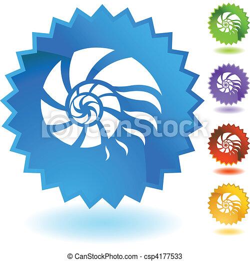 Nautilus Shell - csp4177533