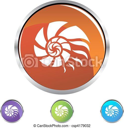 Nautilus Shell - csp4179032