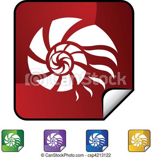 Nautilus Shell - csp4213122