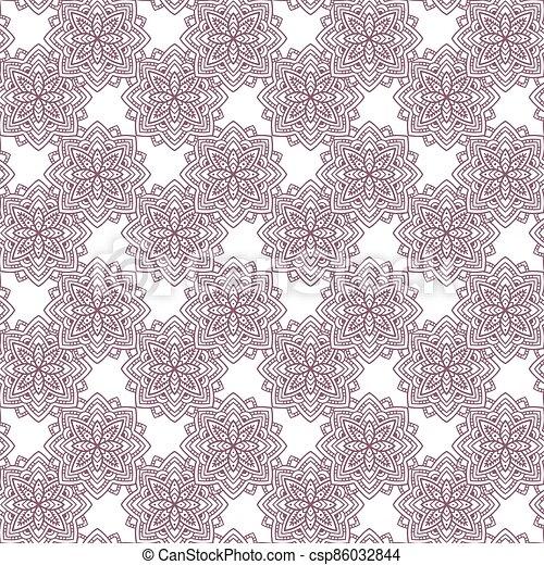 Navajo - Aztec big pattern vector illustration - csp86032844