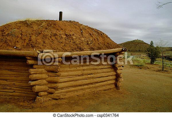 Navajo Hogan - csp0341764