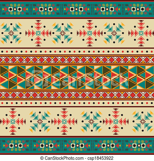 Navajo pattern - csp18453922
