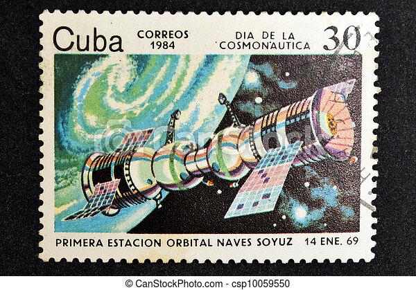 Soyuz de nave espacial - csp10059550
