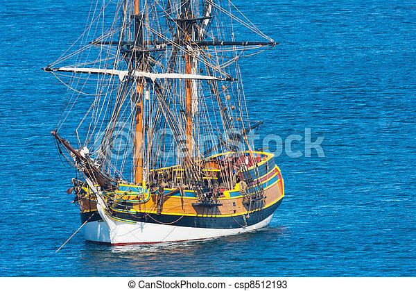 nave, pirata - csp8512193