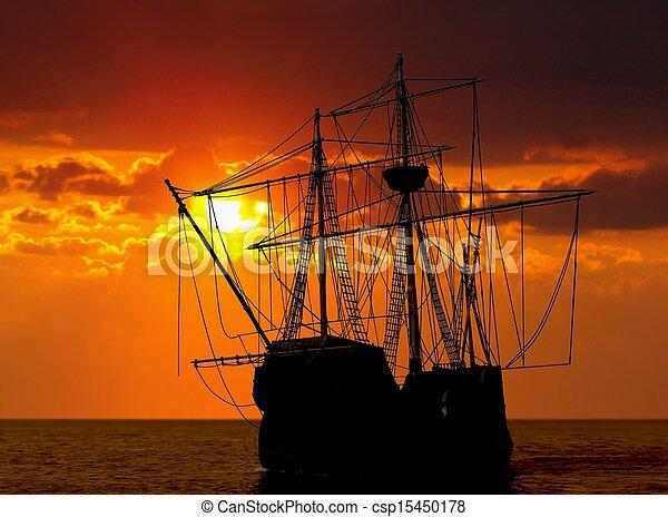 nave, pirata - csp15450178