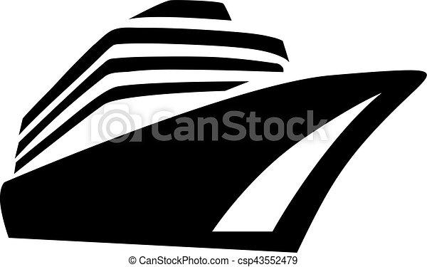 nave, transatlantico, crociera - csp43552479