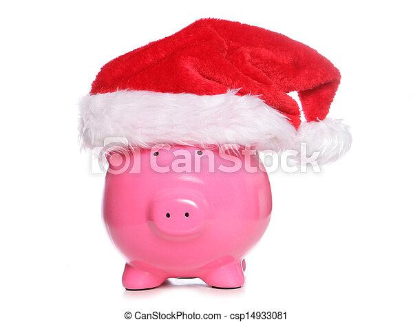Alcancía navideña - csp14933081