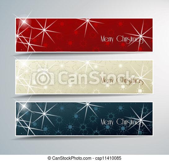 La bandera de Navidad - csp11410085