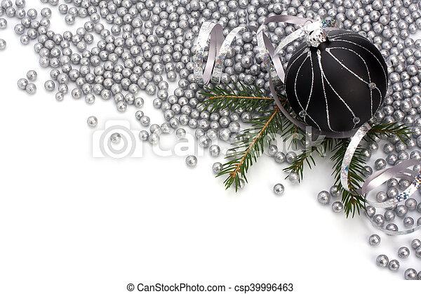 La frontera de Navidad. - csp39996463
