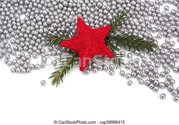 La frontera de Navidad. - csp39996415