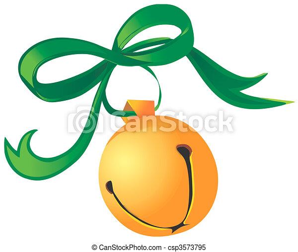 La campana de Navidad - csp3573795