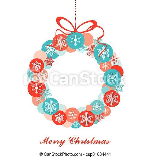 Tarjeta de Navidad. - csp31084441