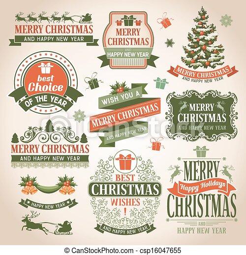 Colección de Navidad - csp16047655