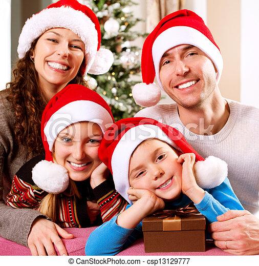 stock de fotos navidad de la familia padres sonriente nios kids feliz