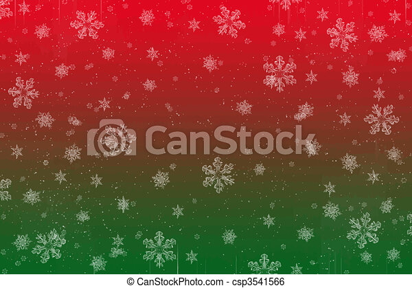 Nieve navideña - csp3541566