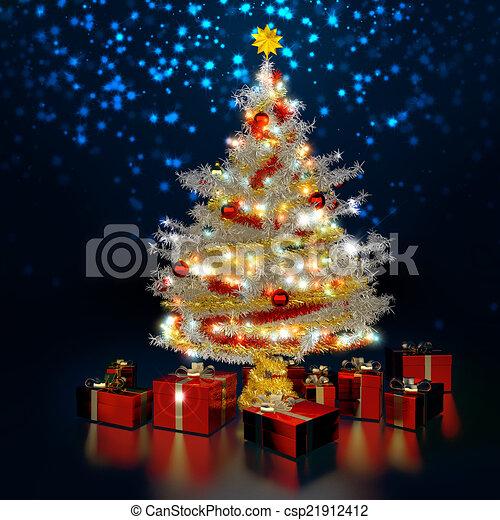 Noche de Navidad - csp21912412