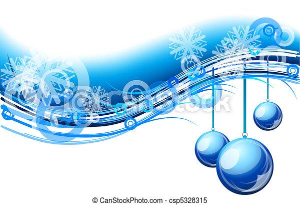 La ola de Navidad - csp5328315