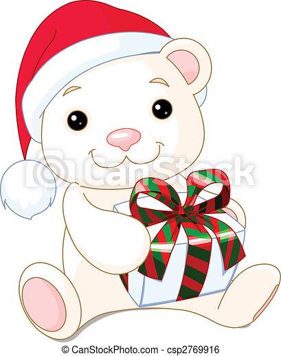 Dibujos de navidad de ositos