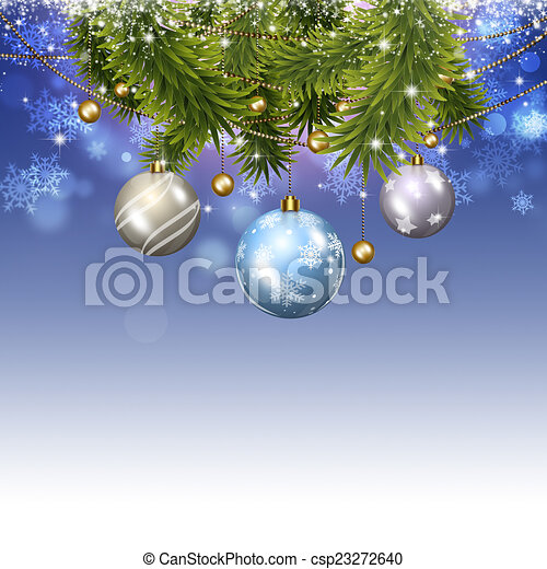 Antecedentes de celebración de Navidad - csp23272640