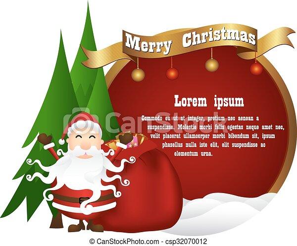 Trasfondo navideño - csp32070012