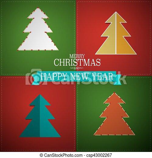 Trasfondo navideño - csp43002267