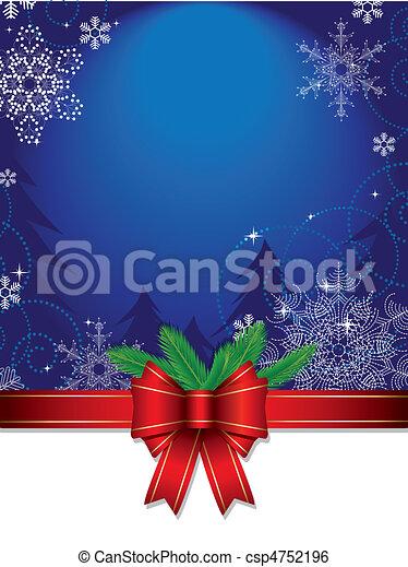 Trasfondo navideño - csp4752196