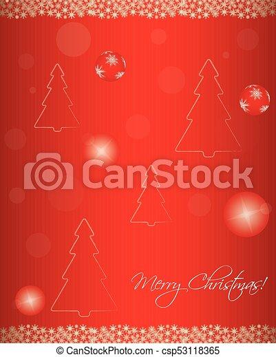 Trasfondo navideño - csp53118365