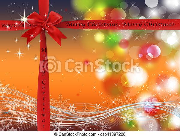 Trasfondo navideño - csp41397228
