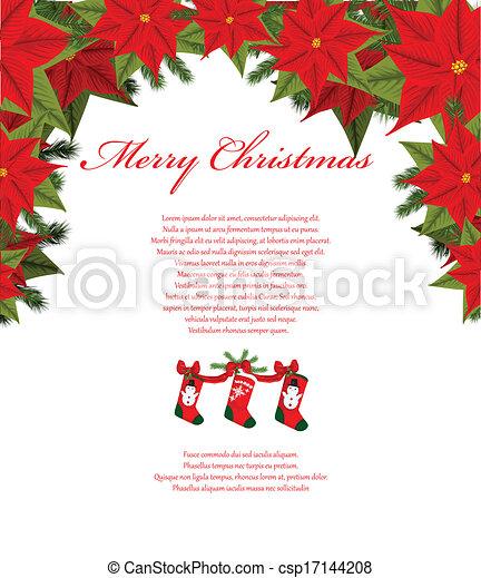 Trasfondo navideño - csp17144208