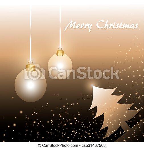 Trasfondo navideño - csp31467508