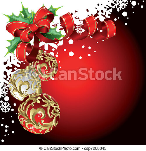 Trasfondo navideño - csp7208845