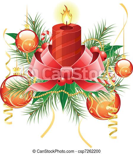 Trasfondo navideño - csp7262200