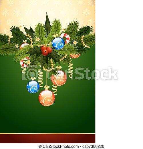 Historia de Navidad - csp7386220