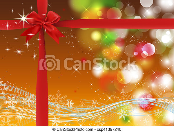 Trasfondo navideño - csp41397240