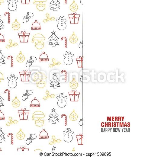 Trasfondo navideño - csp41509895