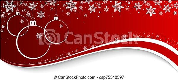 navidad, plano de fondo - csp75548597