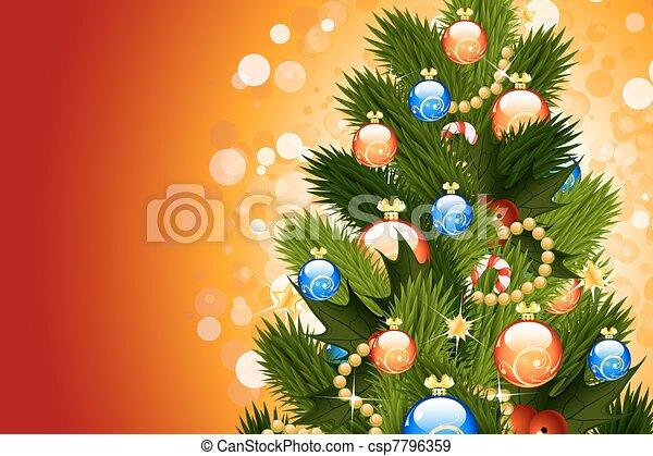 Trasfondo navideño - csp7796359