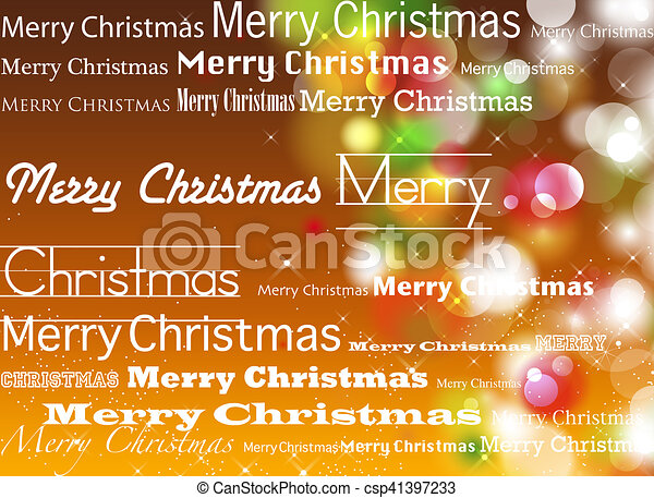Trasfondo navideño - csp41397233