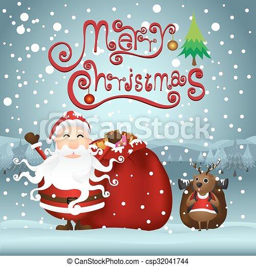 Trasfondo navideño - csp32041744