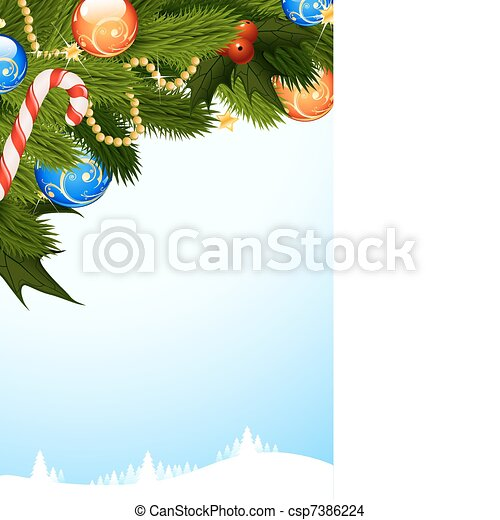 Historia de Navidad - csp7386224