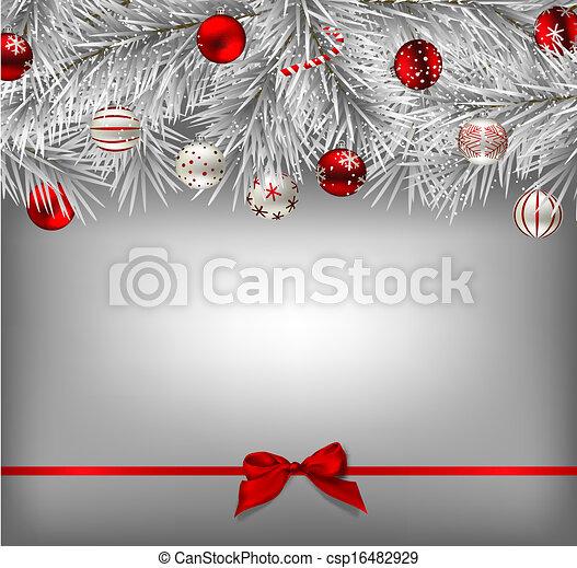 Trasfondo navideño - csp16482929