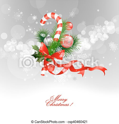 Trasfondo navideño - csp40460421