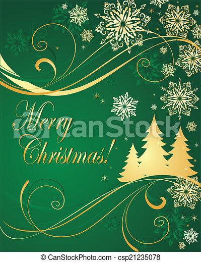 Trasfondo de Navidad - csp21235078