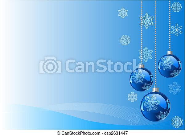 Trasfondo navideño - csp2631447