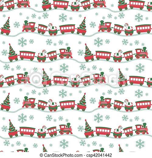 El fondo de Navidad sin costura - csp42041442