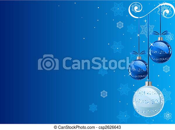 Trasfondo navideño - csp2626643