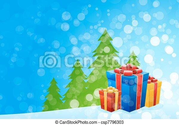 Trasfondo navideño - csp7796303