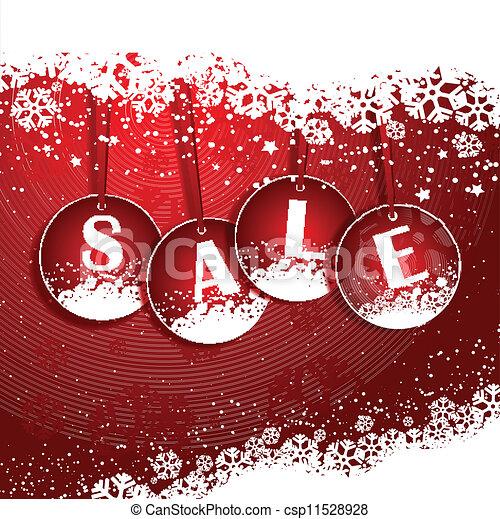Trasfondo de venta de Navidad - csp11528928